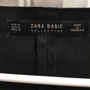 Zara Tops - ZARA Suede Fringe Crop Top